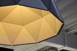 Apollo ceiling lamp by Romy Kuhne at The Tooth Company Britomart
